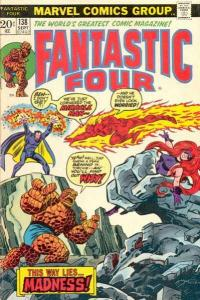 Fantastic Four (1961 series) #138, Fine+ (Stock photo)