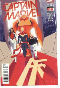 Captain Marvel 3 (2016 series) 9.0 (our highest grade)