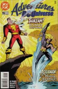 Adventures in the DC Universe #15 FN; DC | save on shipping - details inside