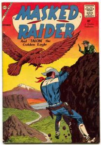 Masked Raider  #16 1958-Charlton-Pete Morisi- FN