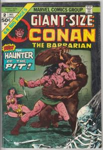 Giant-Size Conan #2 (Dec-74) FN- Mid-Grade Conan