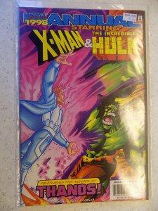 X-MAN AND HULK ANNUAL # 1998