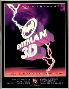 Batman 3D TPB Batman Digital Justice HARDCOVER Graphic Novel Comic Books J342