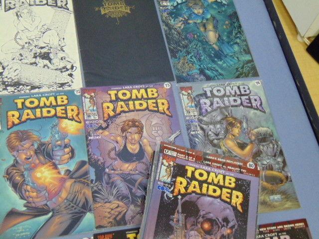 Huge Lot of 50 Tomb Raider Lara Croft Comic Books Adam Hughes Covers & Variants