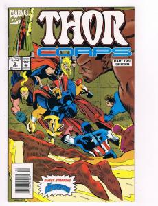 Thor Corps # 2 Marvel Comic Book Awesome Issue Modern Age Beat Ray Bill Thor S27