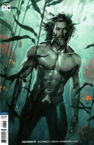 Aquaman #47 Variant Cvr (DC, 2019) NM