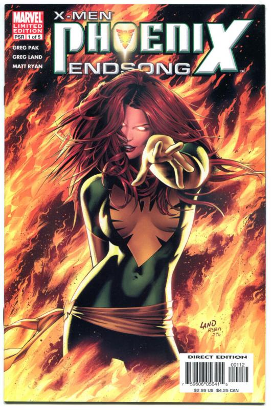PHOENIX ENDSONG #1, NM-, Limited, Wolverine, Greg Land, 2005,more X-Men in store