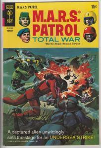 M.A.R.S. Patrol Total War #8 (Feb-69) VF/NM High-Grade M.A.R.S. (Sgt. Joe Str...