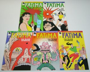Fatima: the Blood Spinners #1-4 VF/NM complete series + bagge variant  hernandez