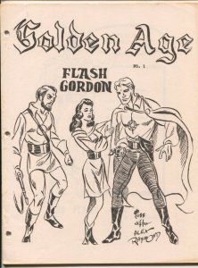 Golden Age #1 1965-SFCA-1st issue-original file copy-never stapled-G.B. Love-...