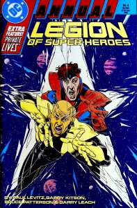 Legion of Super-Heroes Annual #4 (1988)