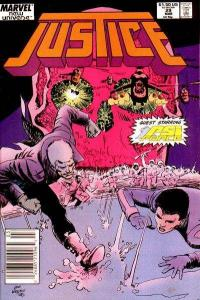 Justice (1986 series) #29, VF+ (Stock photo)