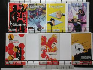 All-New Hawkeye Lot of 7Diff Kate Bishop and Clint Barton Private Investigators