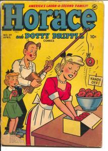 Horace and Dottie Dripple #29 1953-Harvey Golden Age G/VG
