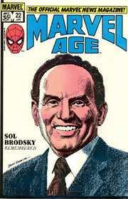 Marvel Age #22, VF (Stock photo)