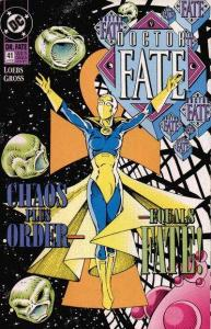 Doctor Fate (1988 series) #41, NM- (Stock photo)