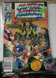 Captain America  # 264 1981 Marvel racist comments  FALCON  SAM WILSON A NIGGRUH