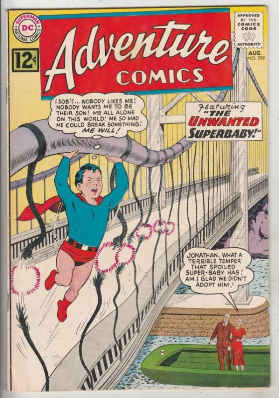Adventure Comics #299 (Aug-62) VF+ High-Grade Superboy