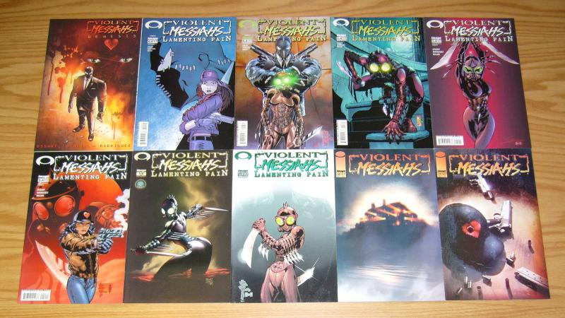 Violent Messiahs #½ & 1-12 VF/NM complete series + genesis + (7) variants - set