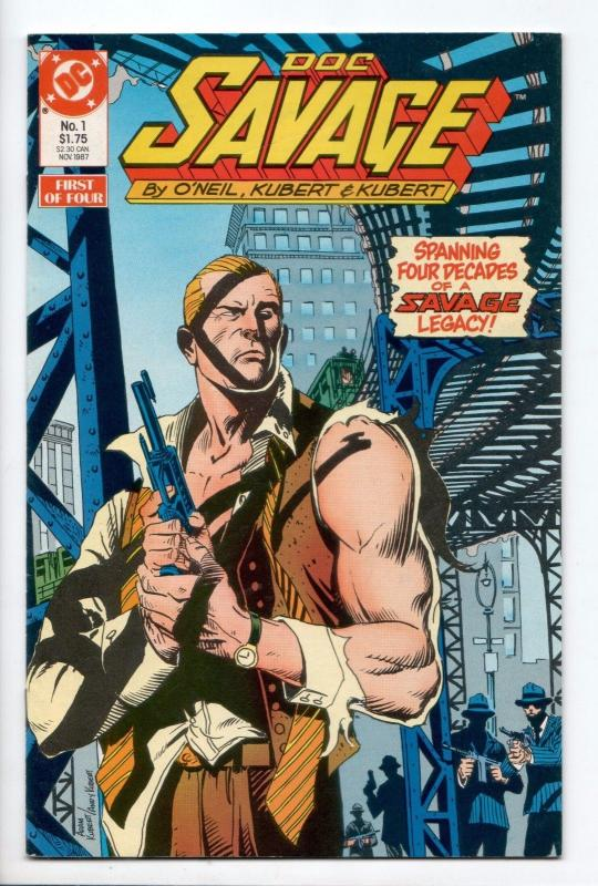 Doc Savage #1 - Into the Silver Pyramid (DC, 1987) - VF-