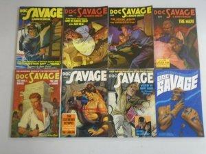 Doc Savage TPB lot 8 different titles avg 7.0 FN VF