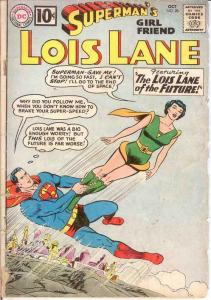 LOIS LANE 28 FR-G   October 1961 COMICS BOOK