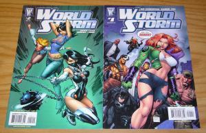 Worldstorm #1-2 VF/NM complete series J SCOTT CAMPBELL art adams essential guide