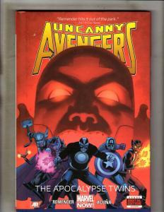 Uncanny Avengers Apocalypse Twin Marvel Comics HARDCOVER Graphic Novel Book J355