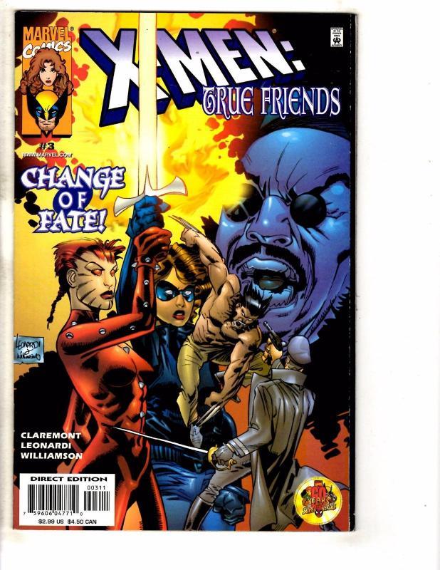 6 X-Men Marvel Comics True Friends 1 2 3 Magneto War 1