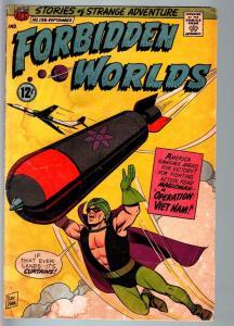 FORBIDDEN WORLDS #138-1966-SILVER-AGE SCI-FI-ACG-MAGICMAN-G G