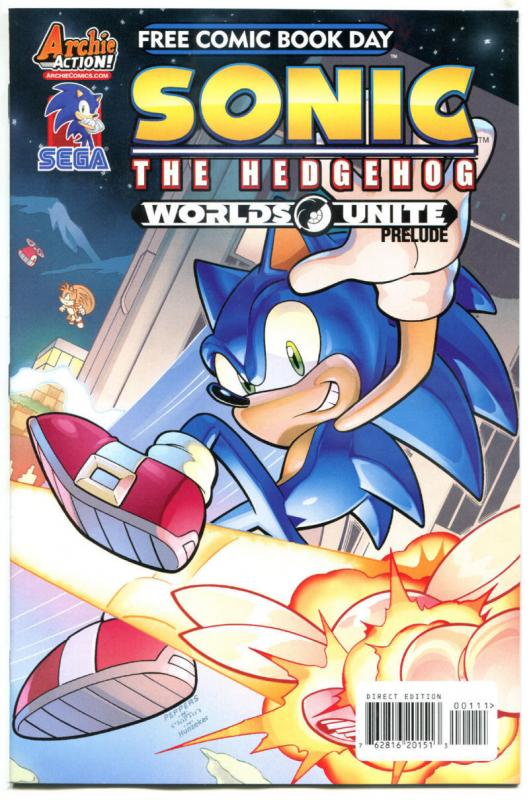 SONIC the HEDGEHOG / MEGA MAN UNITE, NM, FCBD, 2015, more Promo/items in store