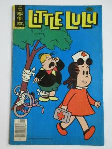 LITTLE LULU #256 (Gold Key, 11/1979) VERY GOOD MINUS (VG-) Tubby on Cover