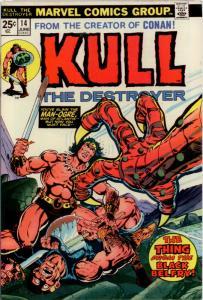 Kull the Conqueror #14 (1974) NM 9.4 Starlin cover, Ploog art