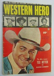 Western Hero #96 3.0 (1950)
