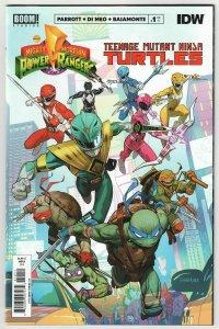 Power Rangers Teenage Mutant Ninja Turtles #1 Cvr A (Boom, 2020) NM