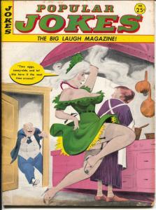 Popular Jokes 2/1964-Marvel-Jack Cole cover-Bill Ward-Robert Q Sale-VG+