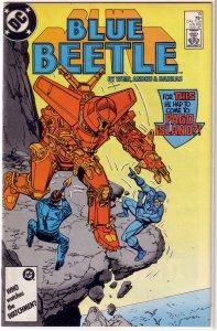 Blue Beetle   (DC vol. 1)   #15 VG Wein/Andru, Carapax