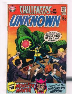 Challengers Of The Unknown #76 VF DC Comics Comic Book DE26