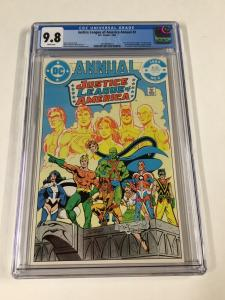 Justice League Annual 2 Cgc 9.8 White Pages 1st Vibe Gypsy