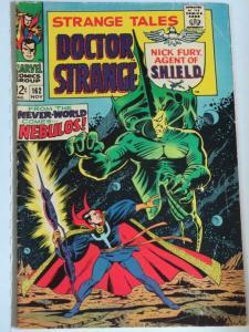 STRANGE TALES 162 G Oct. 1967 Steranko SHIELD