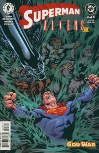 Superman/Aliens 2: God War #3 VF/NM; Dark Horse | save on shipping - details ins