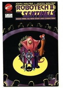 Robotech II: The Sentinels Book 3 #7 Eternity low print run comic book