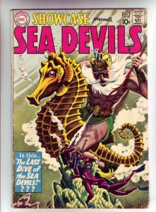 Showcase #29 (Dec-60) VG+ Affordable-Grade Sea Devils