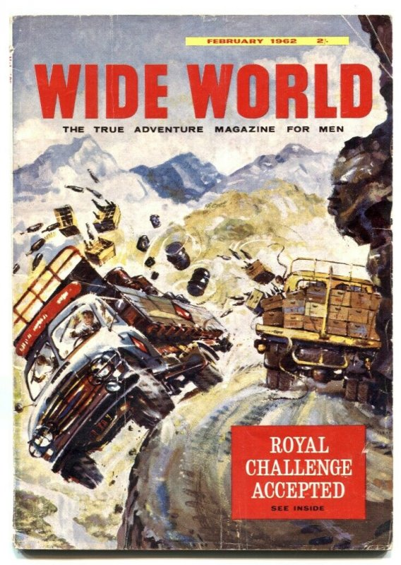 The Wide World Pulp February 1962- My Father is a Cannibal