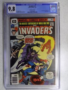 INVADERS # 7 ULTRA RARE 30 CENT VARIANT CGC 9.8. ONLY ONE