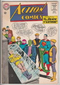 Action Comics #318 (Nov-64) VF+ High-Grade Superman, Supergirl