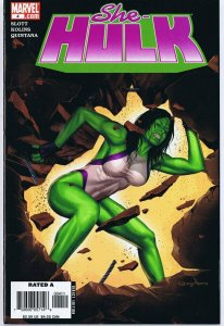 She Hulk #4 ORIGINAL Vintage 2006 Marvel Comics Disney+