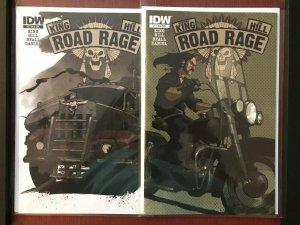 Road Rage #1,2 (IDW, 2012) 1:10 Variant Stephen King & Joe Hill HBO MAX