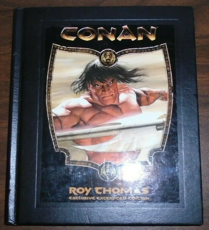 Conan Exclusive Excerpted Edition Hard Cover Roy Thomas 2007 DK Publishing