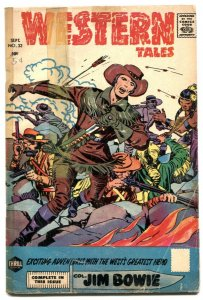 Western Tals #33 1956- Jim Bowie- Silver Age comic FR